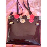 Стильная натуральная сумка шоколад