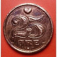 31-13 Дания, 25 эре 1991 г.