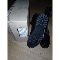 Кожаные новые  армейские офицерские берцы белорусского производителя обуви, 45 и 46 размер, но подойдут и на размер меньше. Берцы  подойдут и для работы, и для охоты или рыбалки, и во время походов