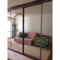 Шкаф зеркальный 5,2 м 5-дверный