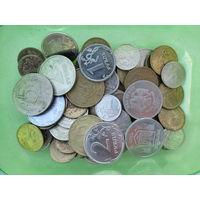 84 монеты России и Украины