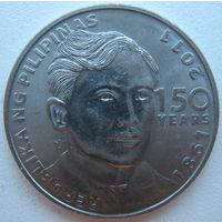 Филиппины 1 писо 2011 г. 150 лет со дня рождения Хосе Ризала