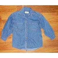 Рубашка джинсовая р.128