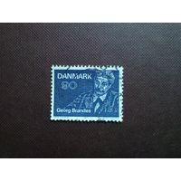 Дания 1971 г.Георг Моррис Кохен Брандес.