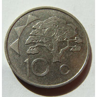 Намибия 10 центов 1996 г