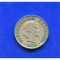 Швейцария 10 раппен 1928