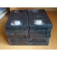 Видеокассеты ТДК новые, 10 штук
