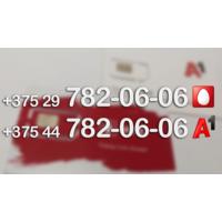 Пара одинаковых номеров МТС + А1
