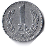 Польша. 1 злотый. 1978 г. Без отметки монетного двора