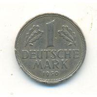 1 марка 1950 г. J. Германия