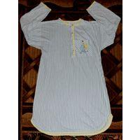 Ночная сорочка с длинным рукавом. Размер 48-52.