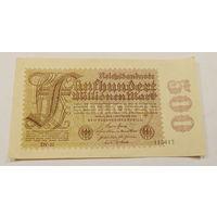 Старт с 1 рубля. 500 марок 1923 год.
