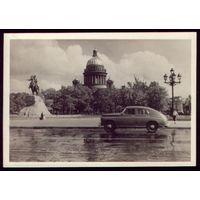 1954 год Ленинград Площадь Декабристов