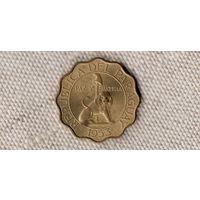 Парагвай 50 сентимо 1953 / Лев