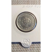 Сан Томе и Принсипи 5 эскудо 1951 серебро