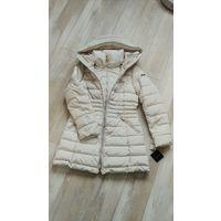 Зимняя дизайнерская куртка с капюшоном от Laundry