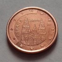 1 евроцент, Испания 2000 г.