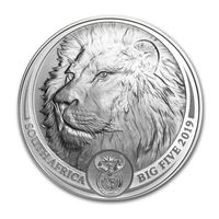 Лев, Большая пятерка ЮАР, тираж 15000