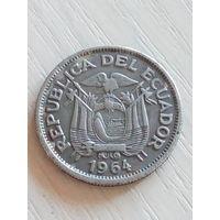 Эквадор 1 сукре 1964г.