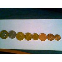 8 монет Белоруси