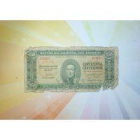 Уругвай 50 центов 1939г