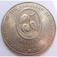 О. Гренада 4 доллара 1970 г