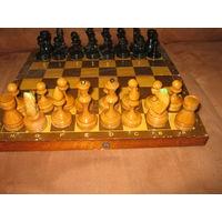 Шахматы времён СССР деревянные