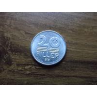 Венгрия 20 филлеров 1989