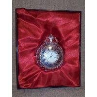 -7- Прозрачные часы с крышкой коллекционные карманные часы