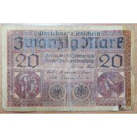 20 марок 1918 года - Германия (Ro.55)