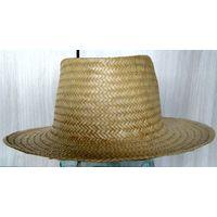 Соломенная шляпа./рисовая солома 59 размер./ Вьетнам. 1986 г.