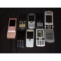 Мобильные телефоны Sony Ericsson , 8 шт.
