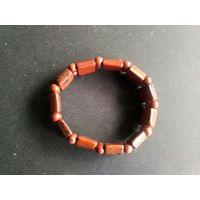 Браслет коричневый обсидиан