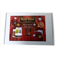 SC Подарочный набор Нумизмат средств для чистки монет, Shine Coins раствор