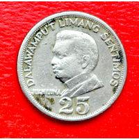 34-30 Филиппины, 25 сентимо 1967 г.