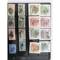 Большой лот марок Венгрии 1. Много дорогих чистых марок. Все на фото!  С 1 руб!