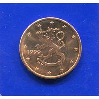 Финляндия 5 евроцентов 1999 UNC