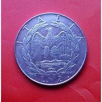 87-02 Италия, 2 лиры 1940 г. Не магнетик