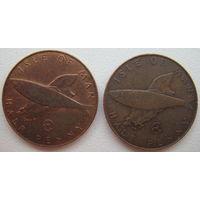Остров Мэн 1/2 пенни 1979 г. Цена за 1 шт. (g)