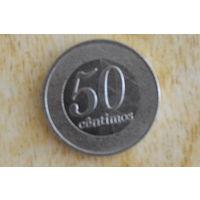 Ангола  50 сантимо 2012
