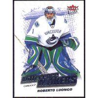НХЛ сезон 2008-2009 FLEER Ultra Difference Makers LUONGO