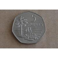 Сейшельские острова 5 рупий 1972