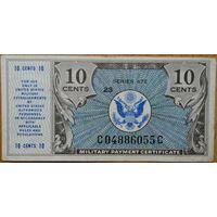 США, 10 центов, 1948, серия 472, KL#М16