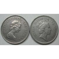 Гонконг 1 доллар 1978 года. 1990 года