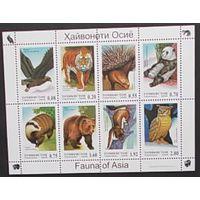 Таджикистан 2006 фауна Азии
