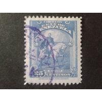 Венесуэла 1940 С. Боливар на коне