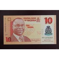 Нигерия 10 найра 2009 UNC
