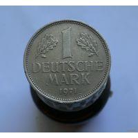 1 марка 1971 D Германия