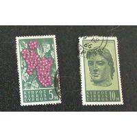 Виноград. Голова Аполлона. Кипр. Дата выпуска:1962-09-17