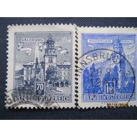 Марки Австрия 1960 год Здания/Башни